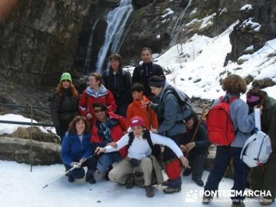 Parque Nacional de Ordesa - Cascadas y nieve; senderismo en madrid rutas